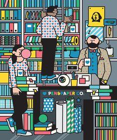 Las divertidisimas ilustraciones de Rami Niemi