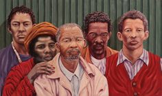 """SPA TOP40 2013 - Eugene Wicht  //  """"Brown Identity""""  /  Oil on Canvas  /  60x100cm"""
