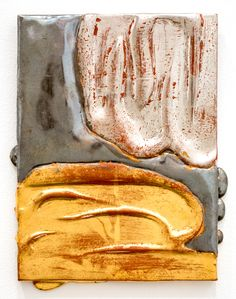 Nancy Lorenz, Gold Blackened Silver, 2014