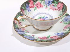 Marvelous Paragon Tea Cup and Saucer Cups and by AprilsLuxuries