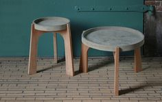 TABLES by Renate Vos made in The Netherlands op CrowdyHouse
