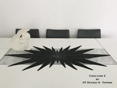 Crochet Table Runner Pattern, Star Wars, Crochet Home, Doilies, Table Runners, Projects To Try, Knitting, Face Care, Design