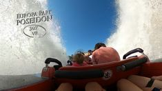 Europa Park Poseidon 360° VR POV Onride Poseidon, Park, Niagara Falls, Travel, Europe, Roller Coaster, Viajes, Parks, Destinations