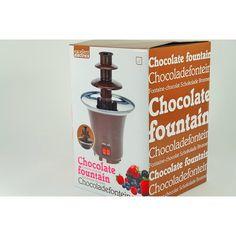 Fuente de Chocolate Mini Fountain de 3 escalones - Ideas de regalos ros