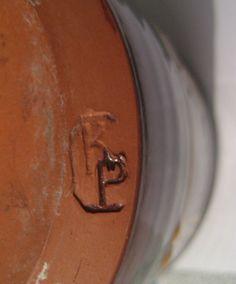 Hugh Maitland Perry (now Hugh Maitland Ceramics), Kingsand Pottery, Cornwall - KP mark