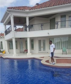 I Go Dye Shows The Pooliside Of His Mansion (Photo)   Celebrities   Nigeria