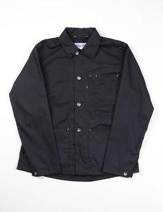 Engineered Garments Workaday Black Ripstop Utility Jacket