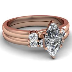 rose-gold-marquise-white-diamond-engagement-wedding-ring-in-prong-set-FDENS3106MQ-NL-RG