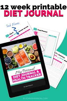 Keep track of everything diet & food related.  Keep motivated & get healthy. Immediate download from my store.