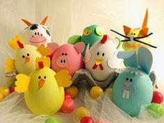 Tutto cominciò...: Decorare e colorare le Uova di Pasqua velocemente