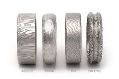 Stainless Steel damascus Rings
