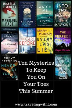 10 Mysteries To Keep You On Your Toes Through Summer | Traveling With T