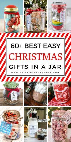 Mason Jar Christmas Gifts, Creative Christmas Gifts, Christmas On A Budget, Mason Jar Gifts, Homemade Christmas Gifts, Mason Jar Diy, Christmas Diy, Christmas Decorations, Country Christmas