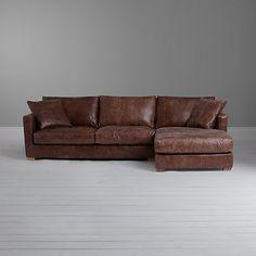 59525ce1e641 John Lewis Baxter RHF Chaise End Sofa
