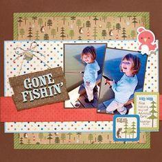 Gone Fishing layout