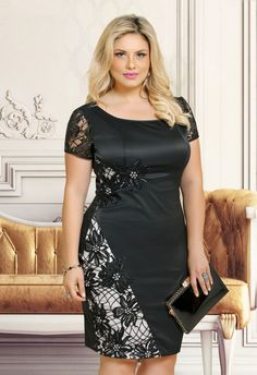 Women Plus size clothing Trendy Plus Size Dresses, Plus Size Outfits, Curvy Fashion, Plus Size Fashion, Fashion Photo, Xl Mode, Big Size Dress, Vestidos Plus Size, African Dress