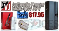 Vapor Joes - Daily Vaping Deals: MEMORIAL DAY: THE KANGER KBOX - SILVER OR BLACK - ...