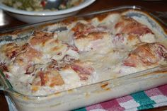 Chicken Breast Supreme- chicken with bacon and dried beef