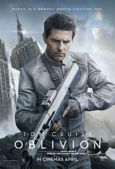 Oblivion starring Tom Cruise #Movie #Poster #SciFi