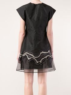 3.1 Phillip Lim Embroidered Geode Flounce Dress - Penelope - Farfetch.com