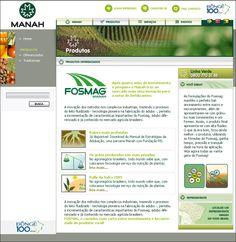 Site do Grupo MANAH