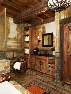 Salle de bain avec une baignoire encastrée : Photos et idées déco de salles de bain