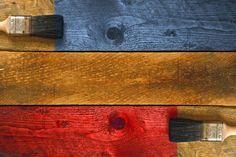 Cómo teñir maderas con vegetales y frutas. Cómo preparar tintes naturales para madera. Técnica para teñir madera con tintes naturales Diy, Cool Stuff, Interiors, Ideas, Shellac, Natural Dyeing, Timber Frames, Standing Lamps, Natural Wood