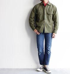 【A VONTADE】Utility Shirts 60年代のミリタリーシャツに よく使われていた コットンポプリン素材を オリジナルで作りこんだ とても素材感の良い シャツジャケットです。 シャトル織り機で高密度に 織り上げられた生地は 軽いですが程よいハリもあり 着込む程に良い表情に 育ってきます。 まだまだ寒いですが 気分が軽くなるオススメの シャツジャケットです。 #avontade #アボンタージ #utilityshirts #fortgeneralstore #滋賀 #草津#セレクトショップ #thenorthfacepurplelabel #orslow #nanamica#kaptainsunshine #stillbyhand #resolute #avontade #tonytaizsun #yellowrat #kletterwerks #vintage #deadstock #apothekefragrance #vans #chaco #descente#descenteallterrain #allterrain #rainbowsand...