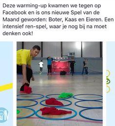 Boter kaas en eieren. Ren spel gezien op gyminspiratie.nl