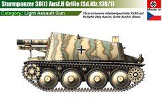 "Sturmpanzer38(t) ""Grille"" Ausf.H"