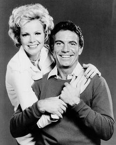 Tony Franciosa as Matt Helm and Laraine Stephens as Claire Kronski, his assistant, from the short-lived television program Matt Helm./.....Seems like the shows I liked always got cancelled!