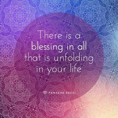 Find the blessing in any difficulties you may be facing, it will put you on your path towards clarity.  ~kimminess