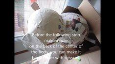How to make a DIY Peppa Pig pinata / piñata for a birthday party.