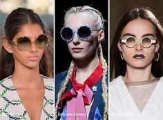 Spring/ Summer 2017 Eyewear Trends: Round Sunglasses