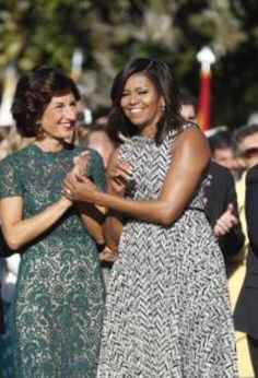 Earlier In The Day Before State Dinner #President Of The United States #BarackObama and #FirstLady Of The United States #MichelleObama will welcome the #Italian #PrimeMinister #MatteoRenzi and his #wife, Mrs. Agnese Landini, to the #WhiteHouse on #Tuesday#October18th #2016 for the #last Official Visit and State Dinner