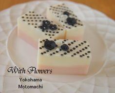Polka-Dot Soap |横浜・元町中華街駅 手作り石けん教室 With Flowers