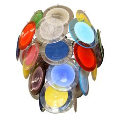Check out the deal on 5 Tier Multicolor Chandelier by Vistosi at Eco First Art Bubble Chandelier, Chandelier Lighting, Just Do It, Light Up, Light Fixtures, Art Decor, Bubbles, Glow, Interior Ideas