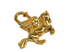 #HERMES Pegasus Cadena Metal Gold (BF098735). All of #eLADY's items are inspected carefully by expert authenticators who have years of experience. For more pre-owned luxury brand items, visit http://global.elady.com
