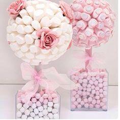 Marshmallows bouquet