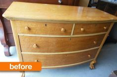Before & After: A Knockout Dresser Gets Even Better