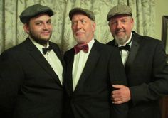 Flat Cap Pack will entertain in Clitheroe