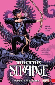 Doctor Strange Vol. 3 – Blood in the Aether (2017) //   In the aftermath of THE LAST DAYS OF MAGIC, journey back to the first days of Doctor Strange! How did Stephen Strange become the Sorcerer Supreme — and how has he lost it all? In the present, Strange is on the brink of death, his magic nearly depleted. #doctor #strange #marvel #comics