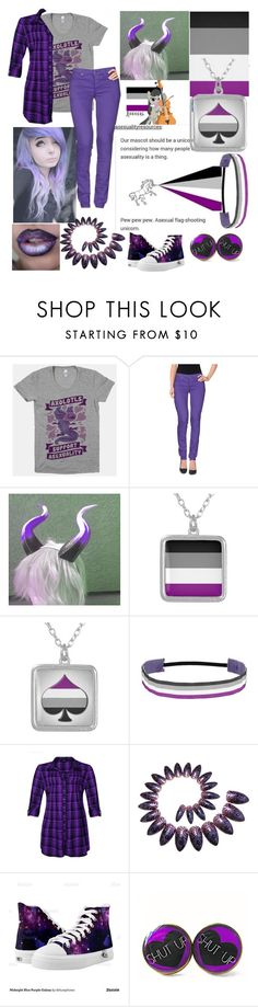 """""""asexual pride <3"""" by xenomorphs4life ❤ liked on Polyvore featuring Cheap Monday"""