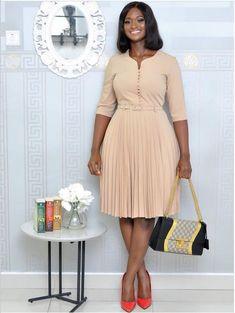 Elegant African Style Women plus Size Dress Curvy Fashion, Modest Fashion, Plus Size Fashion, Fashion Outfits, Womens Fashion, Cheap Fashion, Dress Fashion, Fashion Fashion, Fashion Brands