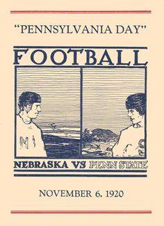1920 Penn State Nittany Lions vs Nebraska Cornhuskers   November 10, 2012