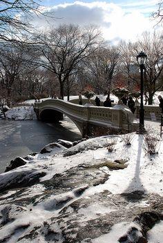 New York - Central Park - Bow Bridge