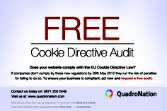 Is your business ready for 26th May 2012? Contact us for your free audit