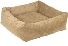 Bowsers Paisley Cedar Microvelvet Dutchie Dog Bed | PupLife Dog Supplies
