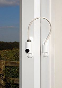 UPVC Cable Window Restrictor. Child Safety Lock. Suitable For Windows u0026 Doors - White & The Important Devices You Need to Help Childproof Your Home ... pezcame.com