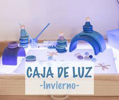 caja de luz Classroom Environment, Reggio Emilia, Sensory Play, Light Table, Teaching Kids, Montessori, Ideas Para, Crafts For Kids, Home And Garden